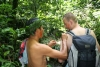 Treating the wounded with traditional medicine
