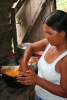 Woman preparing Chicha