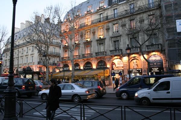 The Quartier Latin