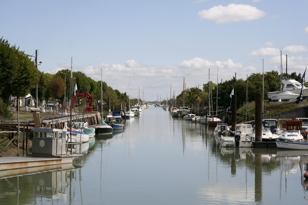 The port of La Tremblade, the town where we stayed