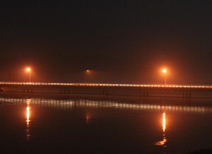 Bridge over the Niger river in Niamey